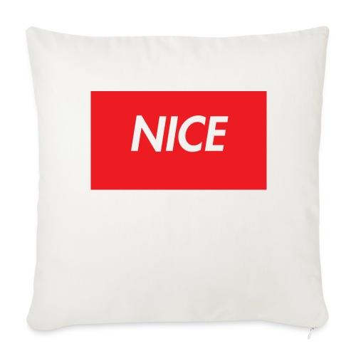 NEW* COOL* NICE * INSPO TEE***** - Soffkuddsöverdrag, 44 x 44 cm
