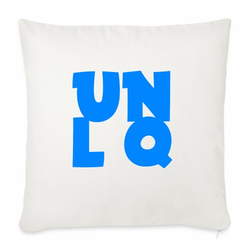 Mit dem Orginalen UNLQ Logo - Sofakissenbezug 44 x 44 cm