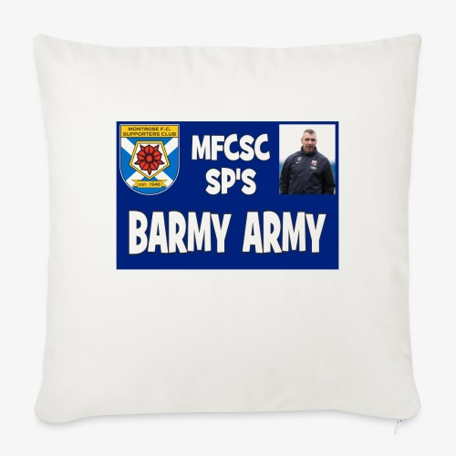Barmy Army - Sofa pillow cover 44 x 44 cm