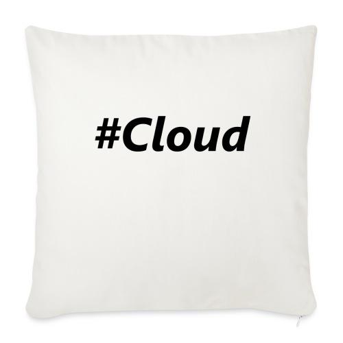 #Cloud black - Sofakissenbezug 44 x 44 cm