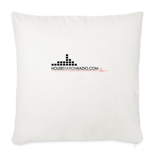 Housestation Radio - Copricuscino per divano, 44 x 44 cm