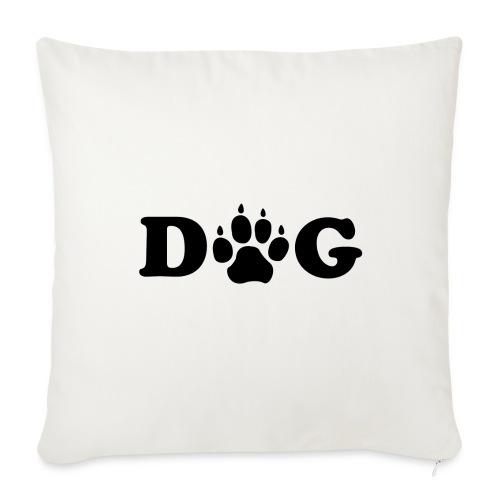 Dog - Housse de coussin décorative 44x 44cm