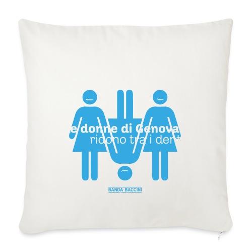 Le donne di Genova. - Copricuscino per divano, 44 x 44 cm