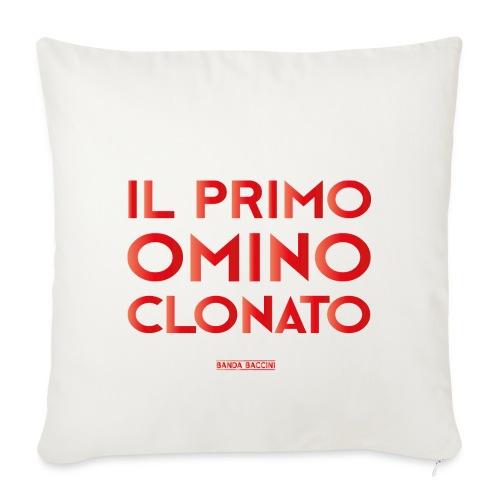 Il Primo Omino Clonato. - Copricuscino per divano, 44 x 44 cm