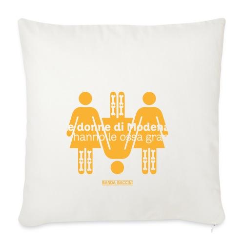 Le donne di Modena. - Copricuscino per divano, 44 x 44 cm