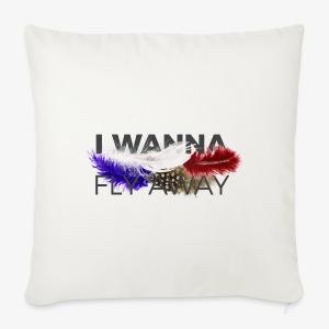 FLY AWAY - Poszewka na poduszkę 44 x 44 cm