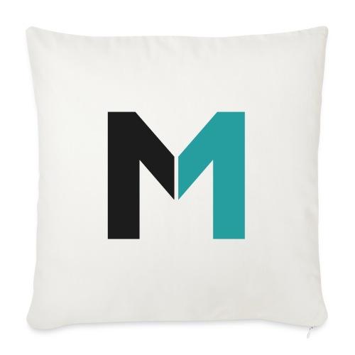Logo M - Sofakissenbezug 44 x 44 cm