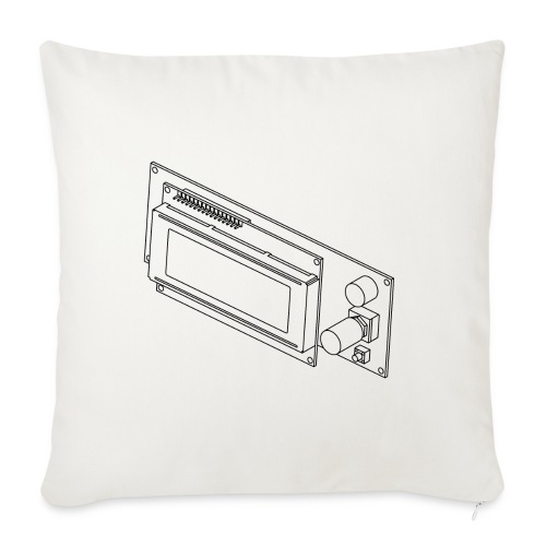 2004LCD (no text). - Sofa pillow cover 44 x 44 cm