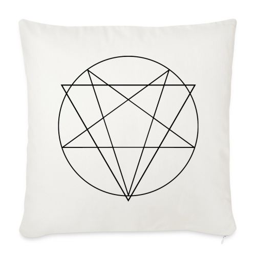 MANIFEST VIA SINISTRA WB - Sofa pillow cover 44 x 44 cm