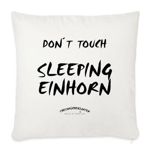 DON´T TOUCH SLEEPING EINHORN - Sofakissenbezug 44 x 44 cm