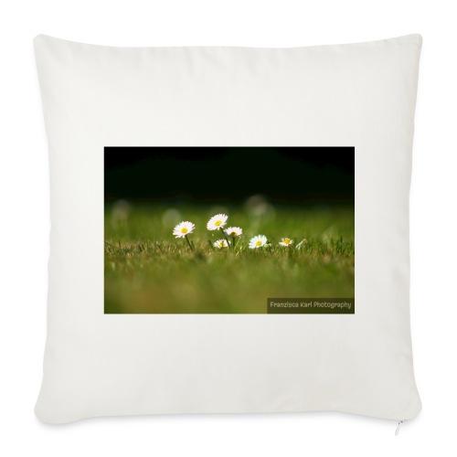 Daisies - Sofa pillow cover 44 x 44 cm