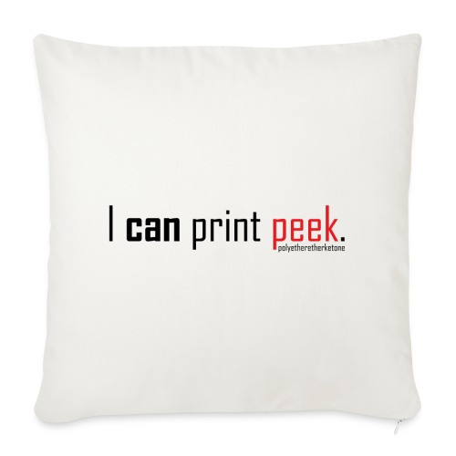 I can print peek. - Sofa pillow cover 44 x 44 cm