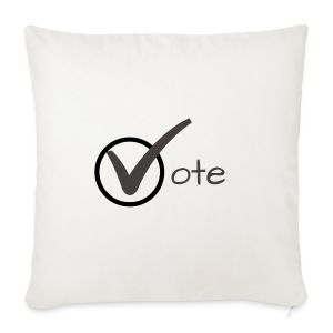 Vote - Sofa pillow cover 44 x 44 cm