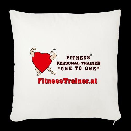 FitnessTrainer.at - Sofakissenbezug 44 x 44 cm