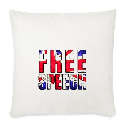 Free Speech UK - Sofa pillow cover 44 x 44 cm