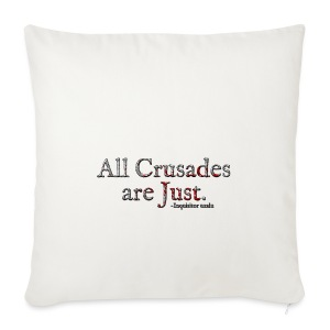 All Crusades Are Just. Alt.1 - Sofa pillow cover 44 x 44 cm