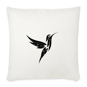colibri - Housse de coussin décorative 44x 44cm