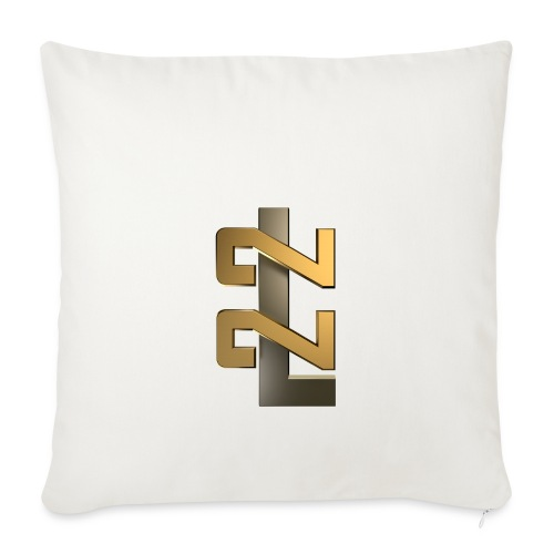 L22 Classic Logo - Soffkuddsöverdrag, 44 x 44 cm