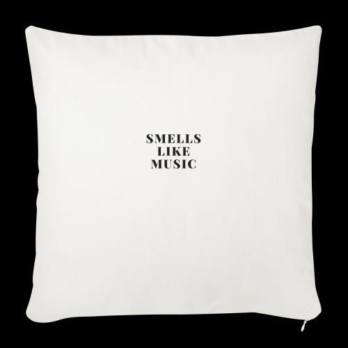 smells like music - Sierkussenhoes, 44 x 44 cm