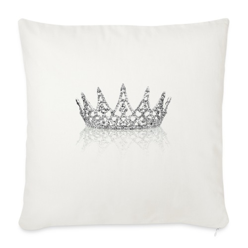 Queen Crown design - Sofa pillow cover 44 x 44 cm