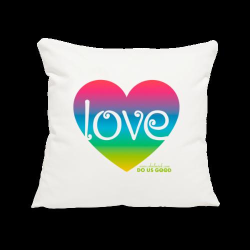 LOVE - Sohvatyynyn päällinen 44 x 44 cm