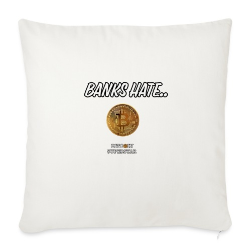 Baks hate - Copricuscino per divano, 44 x 44 cm