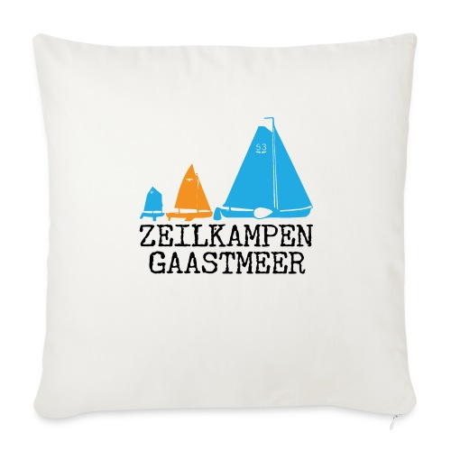 ZKG Zwart Merchandise - Sierkussenhoes, 44 x 44 cm