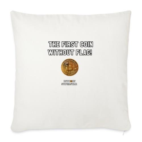 Coin with no flag - Copricuscino per divano, 44 x 44 cm