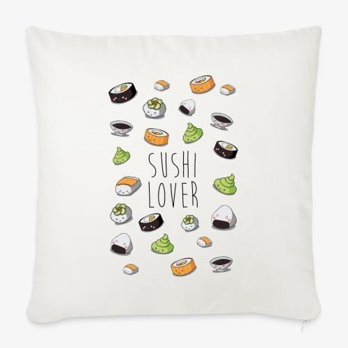 Sushi lover - Housse de coussin décorative 44x 44cm