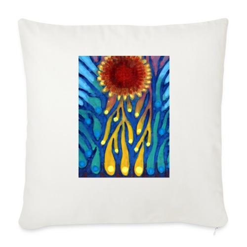 Chore Słońce - Poszewka na poduszkę 44 x 44 cm