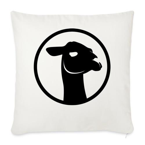 logo_-full_black- - Copricuscino per divano, 44 x 44 cm
