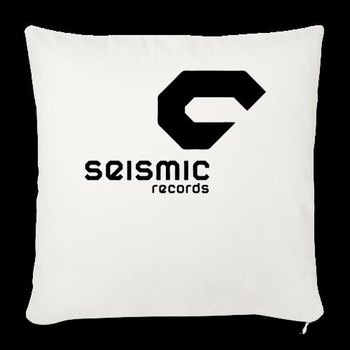 Seismic Records - Sofa pillow cover 44 x 44 cm