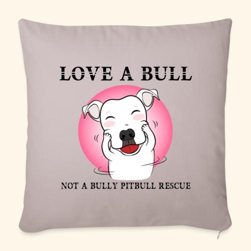 LOVE A BULL - Copricuscino per divano, 44 x 44 cm