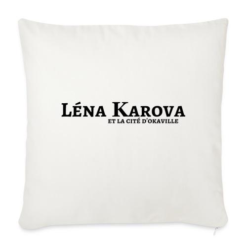 Lena Karova - Produits Dérivés - - Housse de coussin décorative 44x 44cm