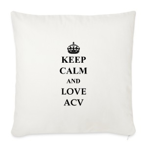 Keep Calm and Love ACV - Sofakissenbezug 44 x 44 cm