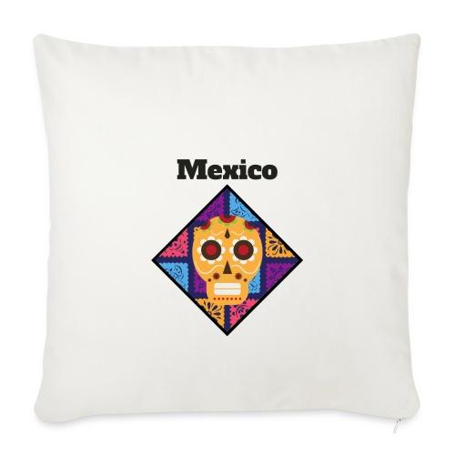 Mexico Calavera - Funda de cojín, 44 x 44 cm