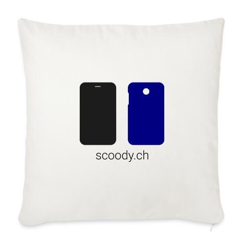 scoody.ch - Housse de coussin décorative 44x 44cm
