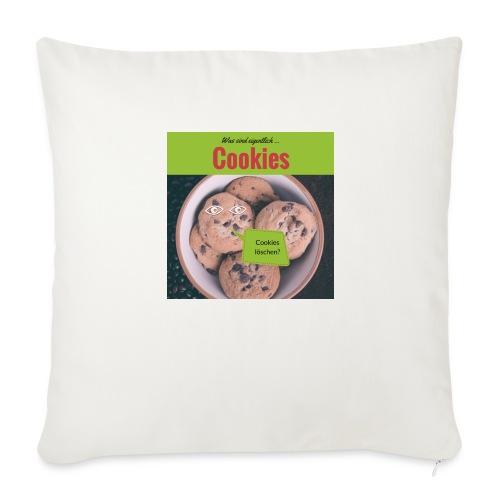 Was sind eigentlich... Cookies, Kekse - Sofakissenbezug 44 x 44 cm