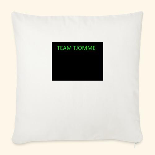 TJOMME logga - Soffkuddsöverdrag, 44 x 44 cm