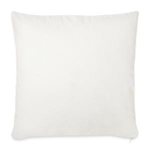Race24 round logo white - Sofa pillow cover 44 x 44 cm