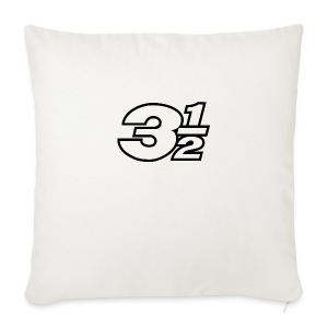 Three and a Half Logo - Sofa pillow cover 44 x 44 cm
