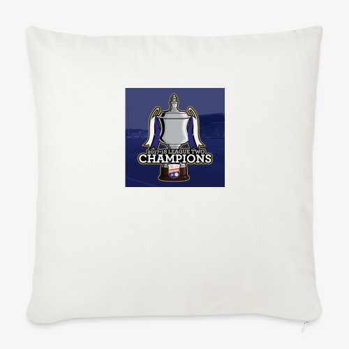 MFC Champions 2017/18 - Sofa pillow cover 44 x 44 cm
