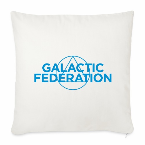 Galactic Federation - Sofa pillow cover 44 x 44 cm