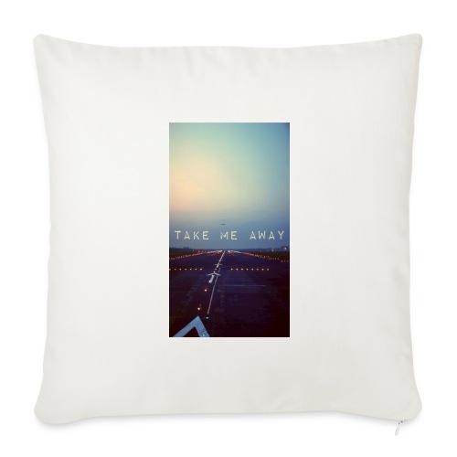 Take me away - Soffkuddsöverdrag, 44 x 44 cm