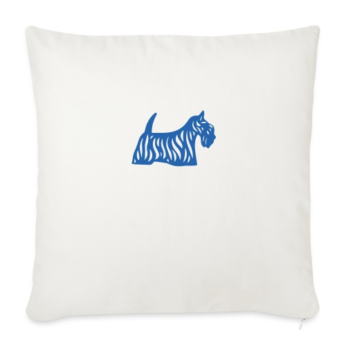 Founded in Scotland logo - Sofa pillow cover 44 x 44 cm
