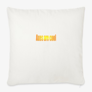 Axes are cool - Sofa pillow cover 44 x 44 cm