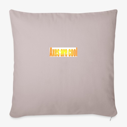 Axes are cool - Sofa pillow cover 44 x 44 cm
