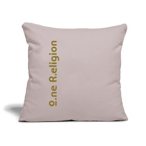 O.ne R.eligion Only - Housse de coussin décorative 45x 45cm