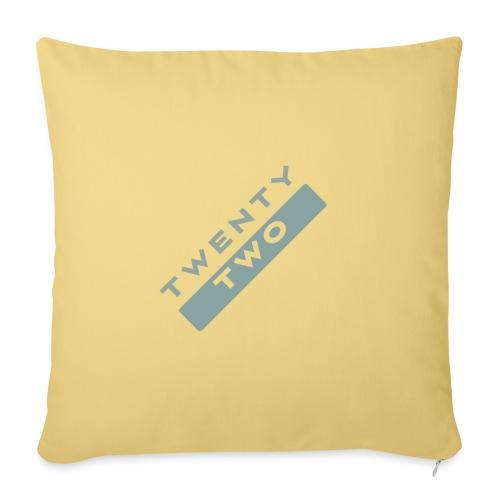 Twenty Two - Sofa pillowcase 17,3'' x 17,3'' (45 x 45 cm)
