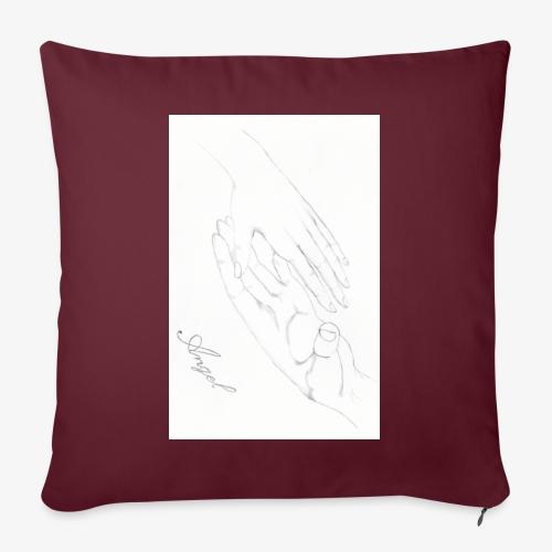mains - Housse de coussin décorative 45x 45cm
